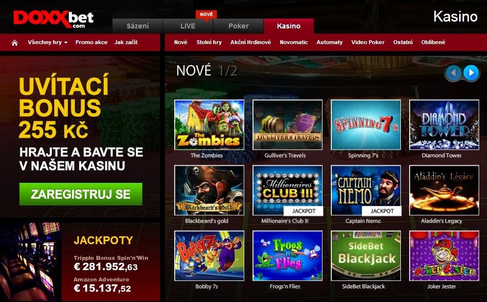doxxbet casino online