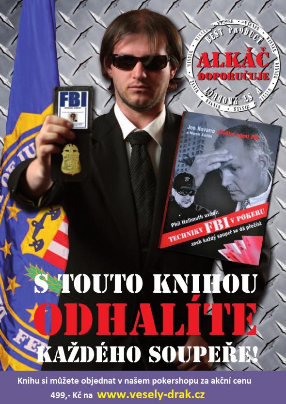 Poker kniha Phil Hellmuth: Techniky FBI v pokeru