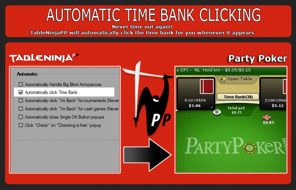 TableNinja pro Party Poker