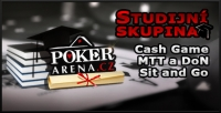 Studijní skupina na Poker-Arena.cz - Sit and Go, DoN a MTT turnaje a cash game