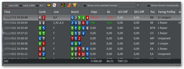 Holdem Manager 2 - reporty 11