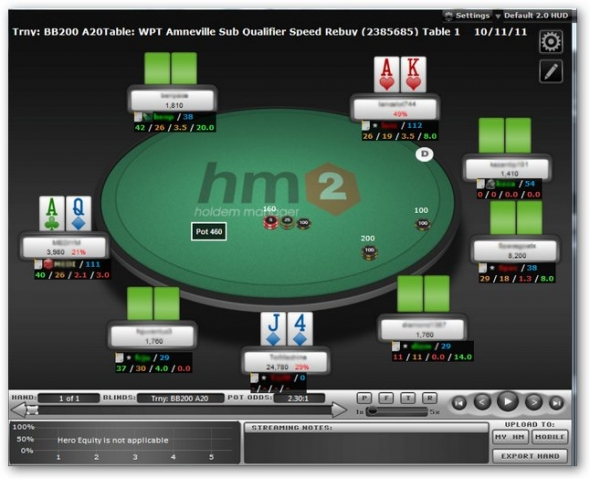 Holdem manager 2 a software problem caused