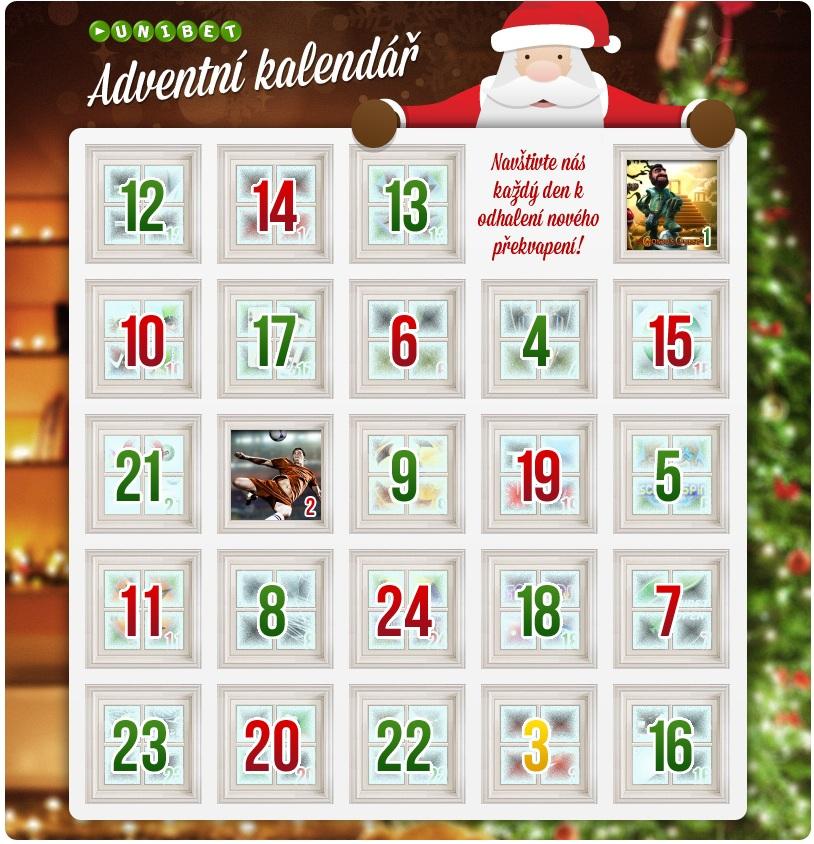 adventni kalendar online Adventní kalendář na Unibetu | Poker Arena.cz adventni kalendar online