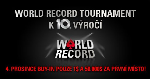 PokerStars - Guinness World Record