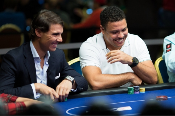 Rafa Nadal and Ronaldo Poker Charity