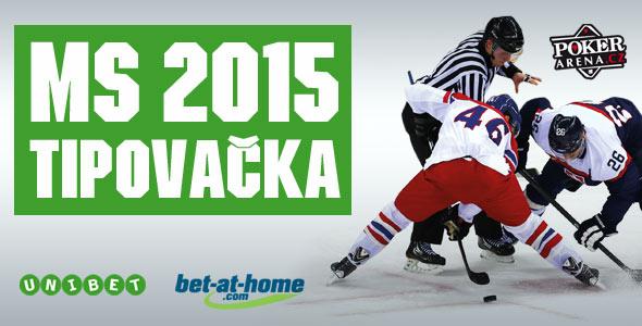ad58c193c5905 Mistrovství světě v hokeji 2015 - tipovačka s partnery Unibet a Bet-at-home
