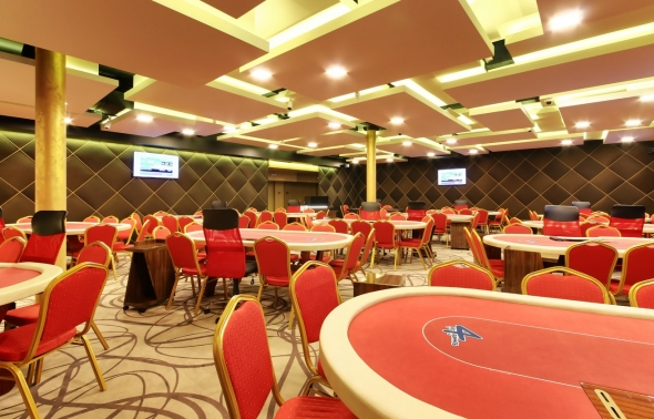 Poker room v casinu Go4Games v resortu Hodolany