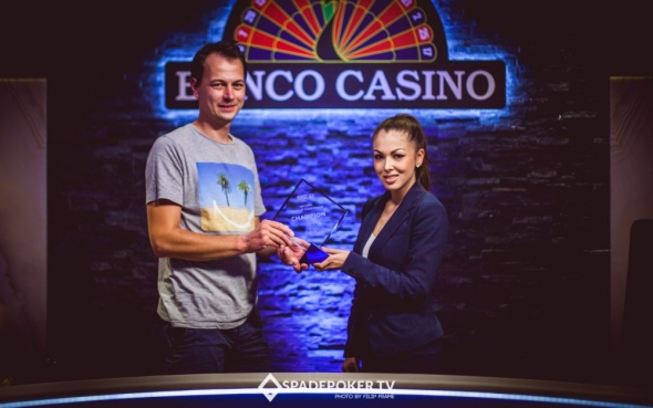 Vítěž SSOP 2016 Event #3: National Heads-Up Championship: Matej Zavacký - €6,325