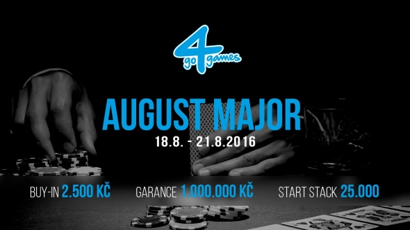 August 2016 major v Go4Games Hodolany