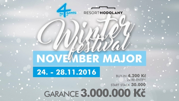 November 2016 major v Go4Games Hodolany