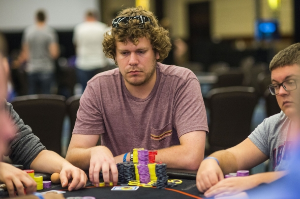 Chip leader Troy Quenneville