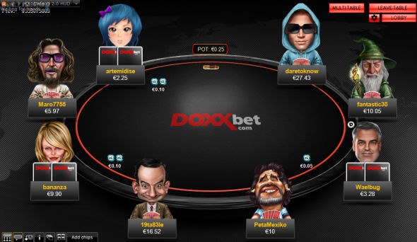Doxxbet Poker