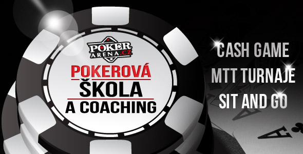 Pokerová škola acoaching - studijní skupina cash game, mtt turnaje asng na Poker-Arena.cz