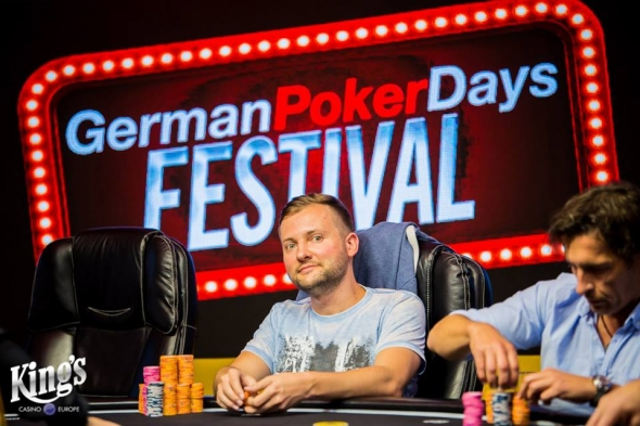 Michal Mrakeš končí čtvrtý v Main Eventu German Poker Days