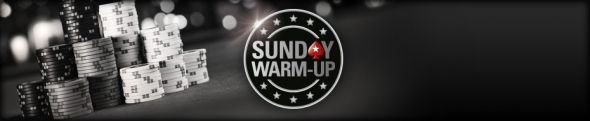 PokerStars Sunday Warm-Up týdně o $xxx,000