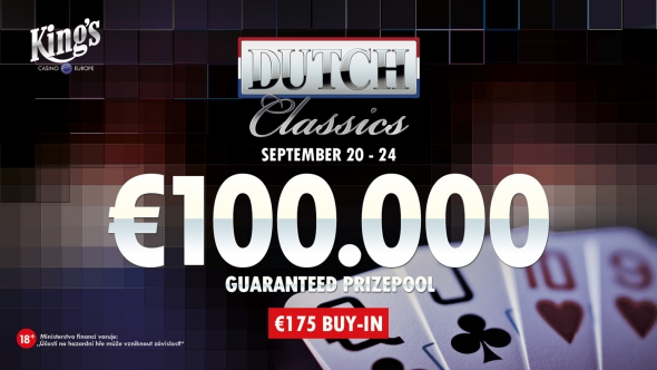 €100,000 Dutch Classics se vrací do King's