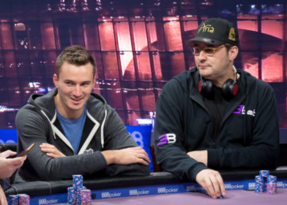 Steffen Sontheimer a Phil Hellmuth v sérii Pooker Masters