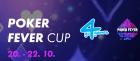 Říjnový Poker Fever Cup 1.000.000 Kč GTD