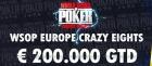 Crazy Eights odstartují první českou WSOPE