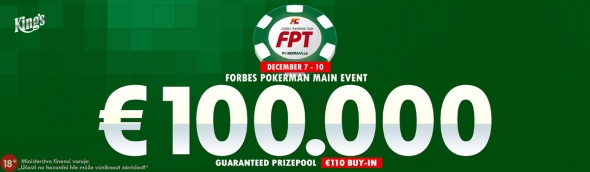 Forbes Pokerman Open o €100,000