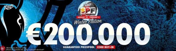 Main Event Spanish Poker Festivalu o €200,000 GTD
