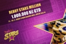Main Event RebuyStars Million Festivalu s garancí 1 000 000 Kč