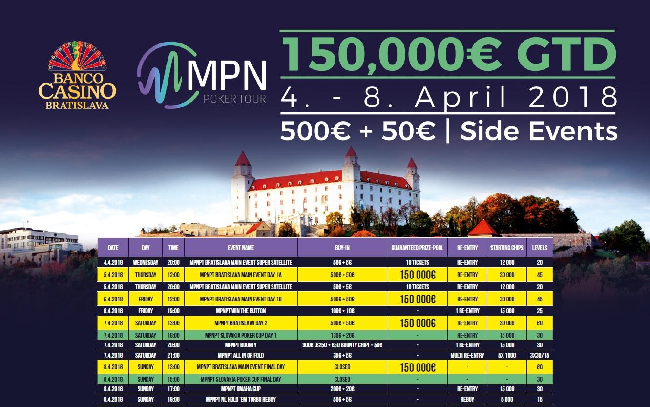 Program MPN Poker Tour