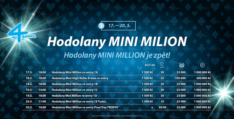 Mini Million v Go4Games Hodolany