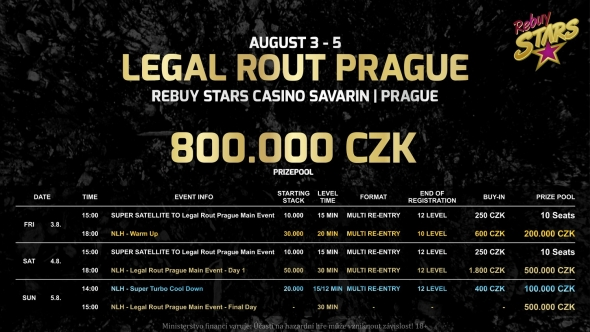 Rebuy Stars Savarin Legal Rout Prague
