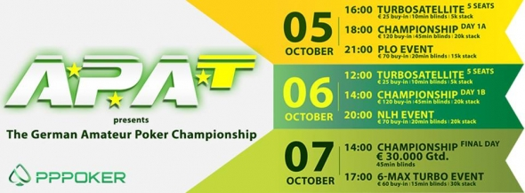 APAT German Amateur Poker Championship