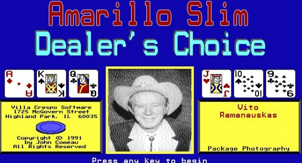 Amarillo Slim's Dealer's Choice