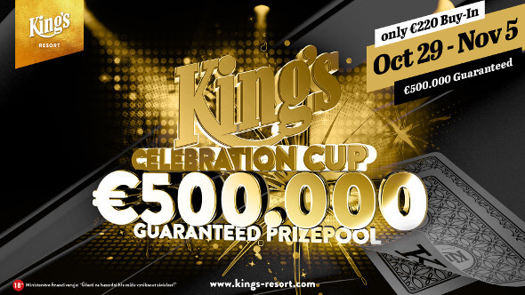 King's Celebration Cup o €500,000