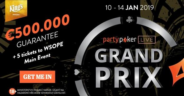 PartyPoker Grand Prix s garancí €551,750