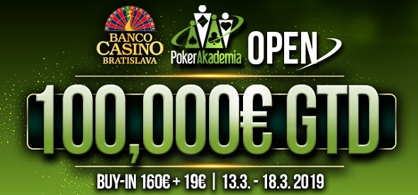 Banco Casino Pokeracademia Open 2019