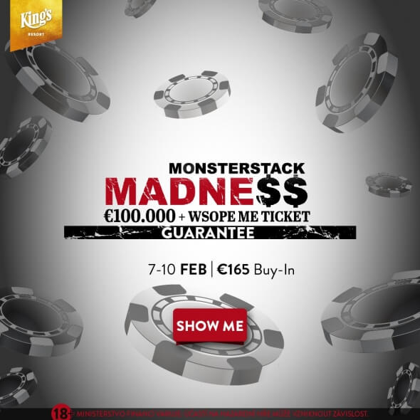 Monsterstack Madness o €110,350 GTD