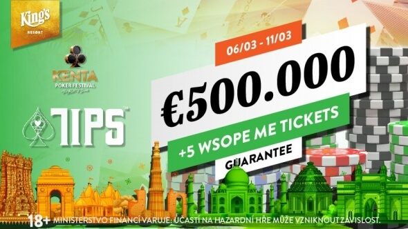 TIPS & KENTA: Izraelský nájezd na King's s €551,750 GTD