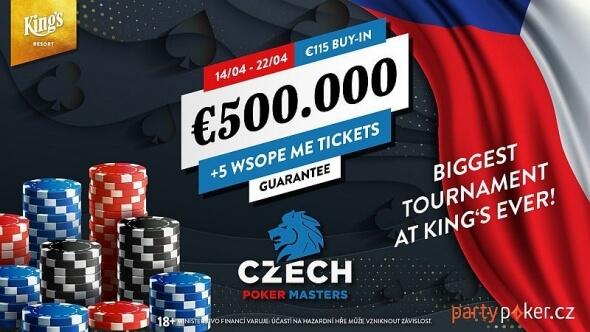 Zahrajte si v King's tento týden Czech National Championship