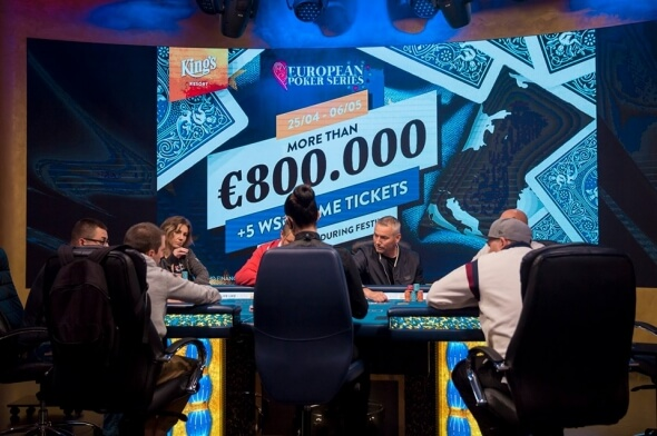 Live stream: Finále European Poker Series v King's o €80k
