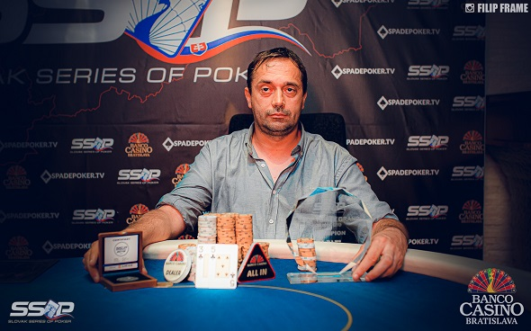 Slovak Series of Poker 2019 - Thirty Grand Champion