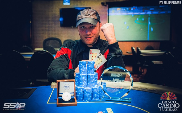 Slovak Series of Poker 2019 - 6-Max Champion