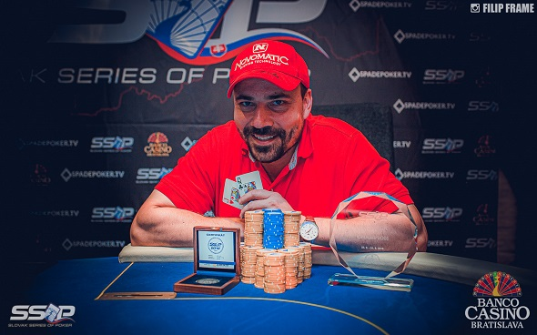 Slovak Series of Poker 2019 - Big Stack Champion