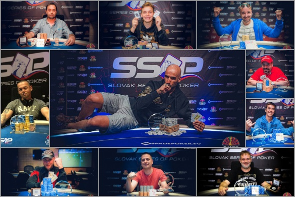 Slovak Series of Poker 2019 - Champions