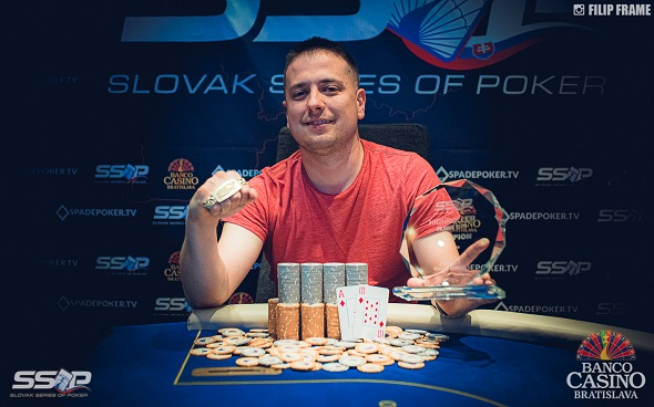 Slovak Series of Poker 2019 - High Roller Champion