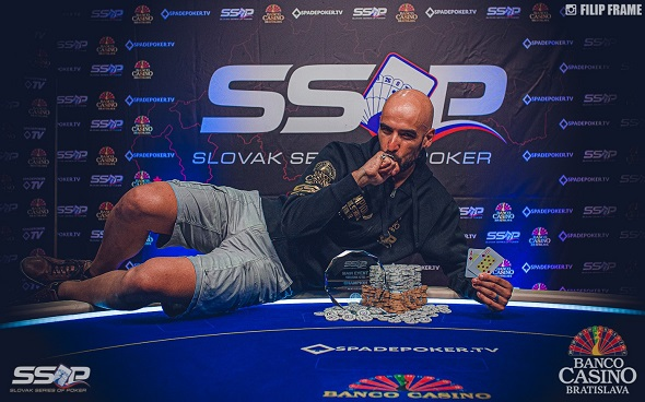 Slovak Series of Poker 2019 - Main Event Champion