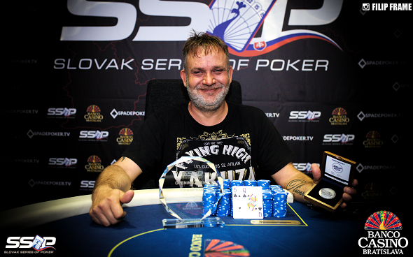 Slovak Series of Poker 2019 - Opening Event Champion