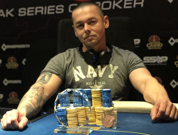 Slovak Series of Poker 2019 - Win the Button Champion