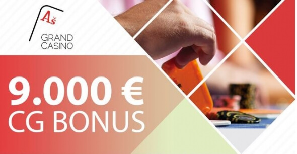 Grand Casino Aš rozdává €9,000 v Cash Game Summer Special