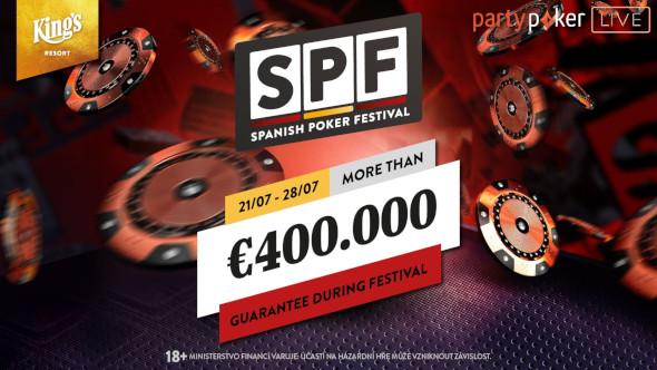 Tento týden bude King's Resort patřit Spanish Poker Festivalu s garancí přes €400,000