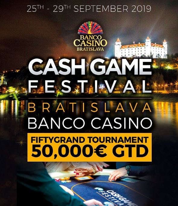 Banco Casino Cash Game Festival