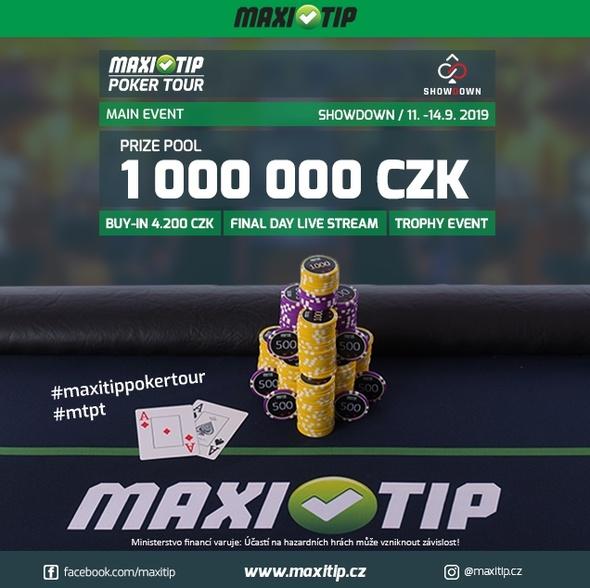 MaxiTip Poker Tour Showdown Milion
